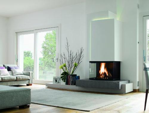 cheminee moderne design à proximite de gap