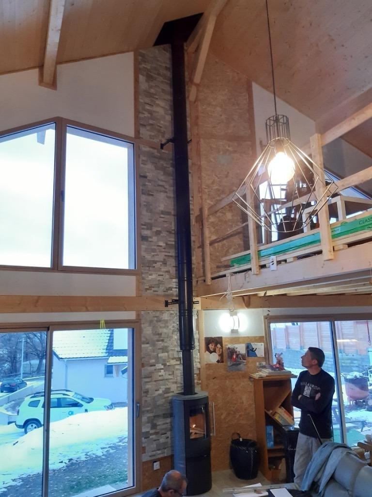 Installation poele a bois termatech a proximite de chorges