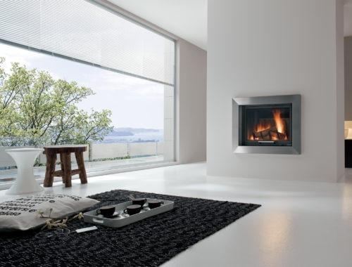 Encadrement cheminee moderne a proximite de Gap