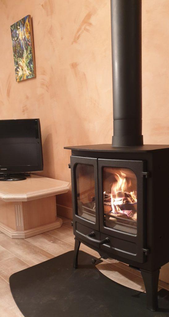 Installation poele a bois pres de La Roche des Arnauds
