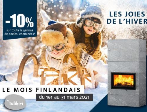 le mois finlandais tulikivi promotion pres de gap