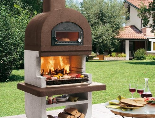 barbecue en pierre four a pizza pres de gap