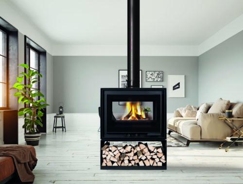 Projet installation cheminee moderne pres de gap
